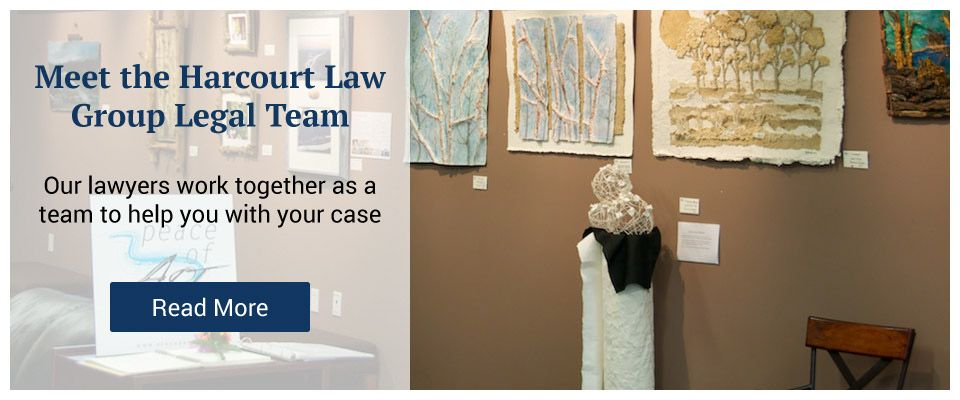 Meet the Harcourt Law Group Legal Team - art gallery